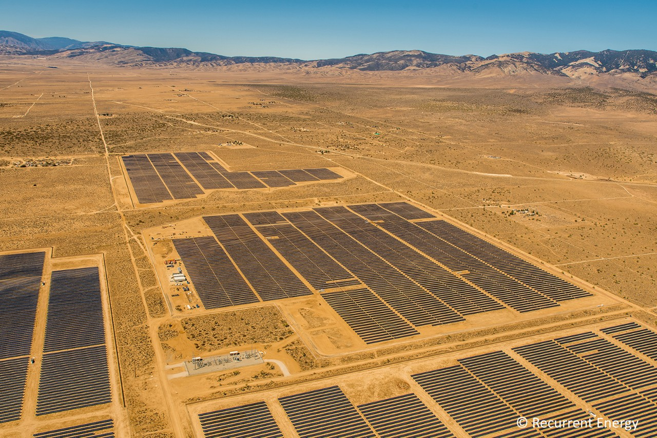 The 20-megawatt Gaskell West 1 Solar PV Facility, developed by Recurrent Energy and owned by Southern Power, entered operation in March 2018, delivering power to Southern California Edison.